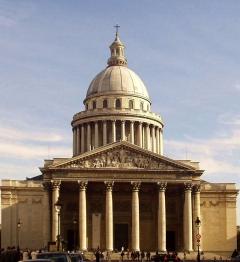Пантеон - усыпальница выдающихся людей Франции