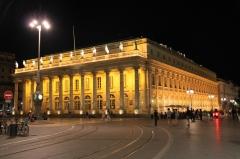 Большой Театр Бордо и неоклассический ансамбль города